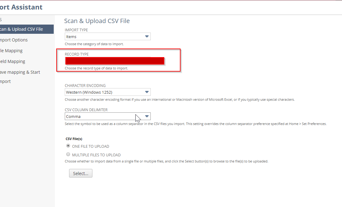 RE: CSV import of Assembly Items