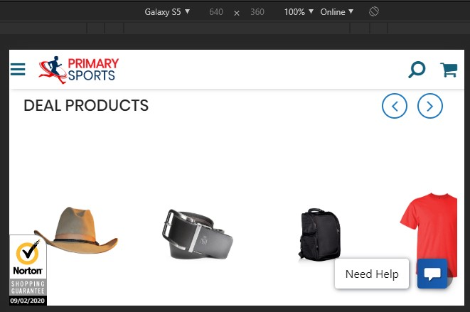 RE: image slider in merchandising zone breaks down on mobile orientation change on homepage