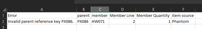 Update Member info