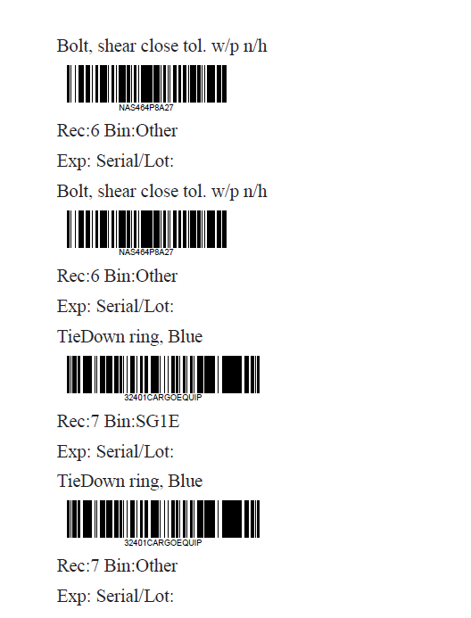 Printing Barcodes to a Zebra Printer