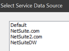 NetSuiteDW  as new data source via SuiteAnalytics ODBC Connect?