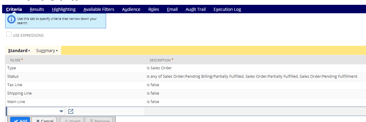 RE: display printed pick ticket status as a column in a saved search