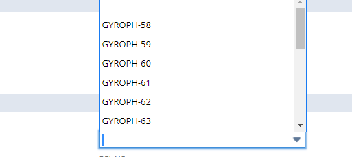 Inventory number custom field