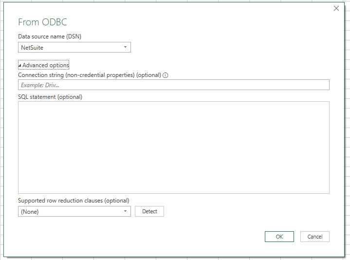 ODBC Connection Error SuiteAnalytics Connect
