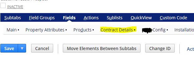 Custom Subtab Customization