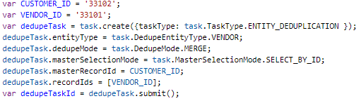 RE: Is there a way to create a Vendor from a Customer as an Other Relationship using SuiteScript?