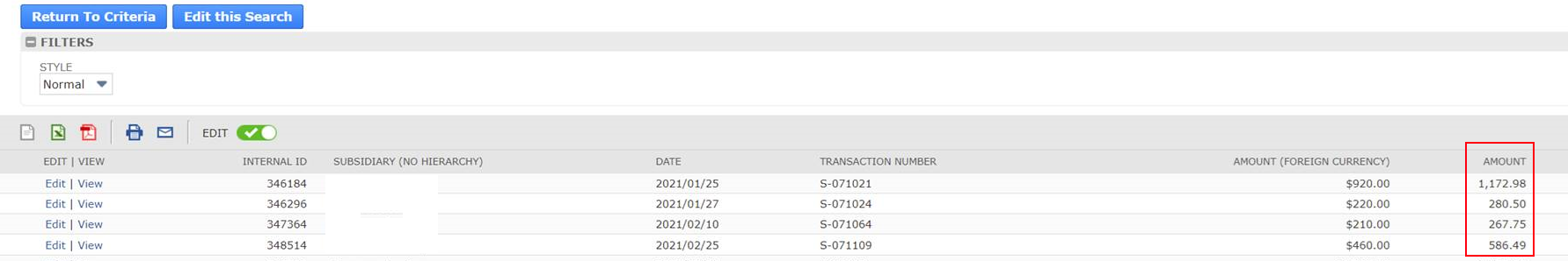 How to extract Sales Order amount  local currency?